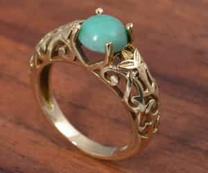 fashion jewelry, engagement ring, and girls gift image