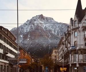 mountain, schweiz, and himmel image