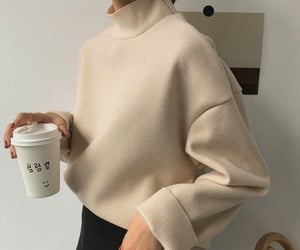 aesthetic, coffee, and outfit image