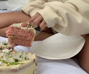 beige and cake image