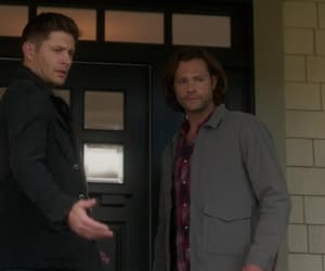 Jensen Ackles, sam winchester, and dean winchester image