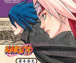 books, uchiha sasuke, and haruno sakura image