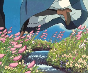 90s, howl's moving castle, and whisper of the heart image