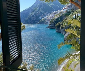 positano, summer, and italy image