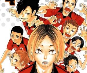 manga, kuroo, and haikyuu image
