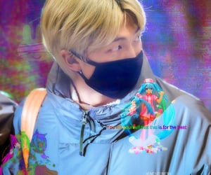 kpop, rm edit, and cyber bts edit image