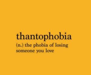 love, phobia, and thantophobia image