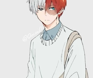 handsome, boku no hero academia, and todoroki image