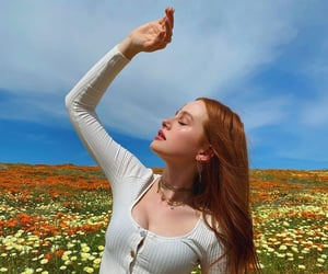madelaine petsch, riverdale, and flowers image