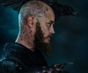 crows, king, and Tattoos image