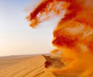 ярко, песок, and оранжевый image