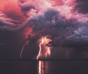 aesthetic, scenery, and storm image