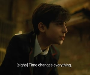 the umbrella academy and aidan gallagher image