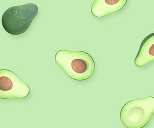 background, pattern, and avocado image