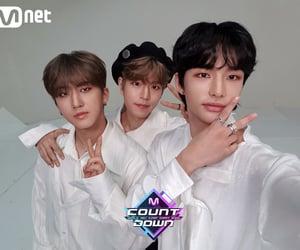 hyunjin, seungmin, and changbin image