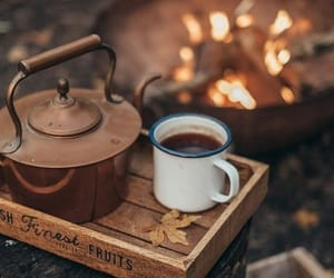 autumn, coffee, and tea image