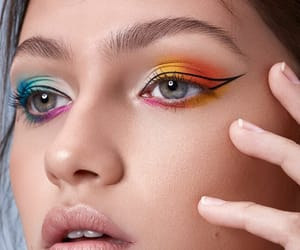 beauty, cosmetics, and look image