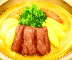anime, feed, and food image