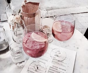 drink, aesthetic, and pink image