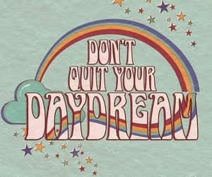 70s, daydream, and rainbow image