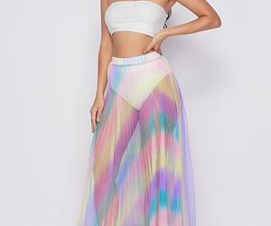 image, maxi skirt, and fashion image