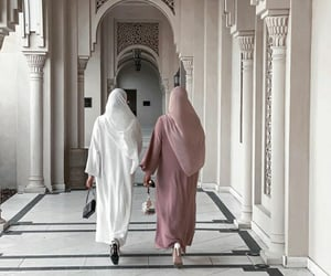 hijab, aesthetic, and pink image