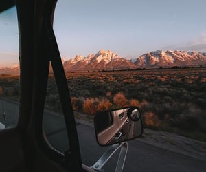 adventure, landscape, and mountains image