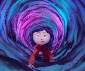 aesthetic, coraline, and icon image