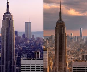 empire state building, history, and new york image