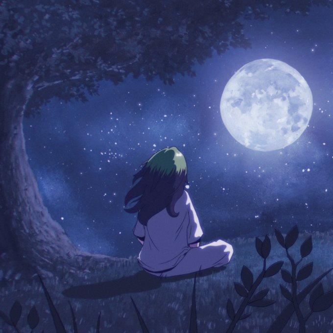 billie eilish, moon, and my future image