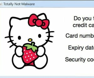 cyber, edit, and hello kitty image