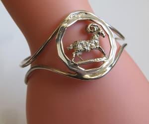 handmade bracelet, boho bracelet, and cuff bracelets image