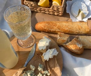 food, cheese, and drink image
