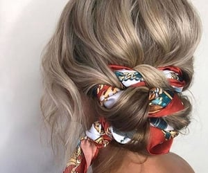 hair, hair accessories, and hairstyle image