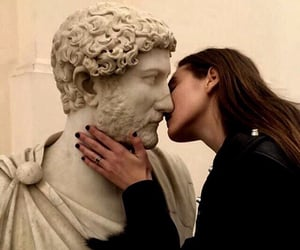 kiss, art, and aesthetic image