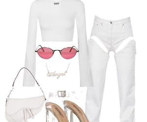 heels, sunglasses, and fashion image
