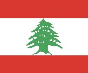 lebanon and flag image