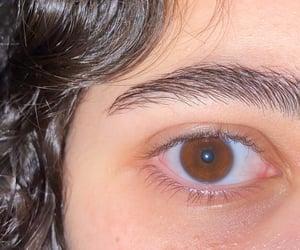 brown, eyes, and me image