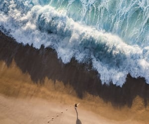 background, landscape, and sea image