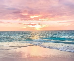 beach, aesthetic, and blue image