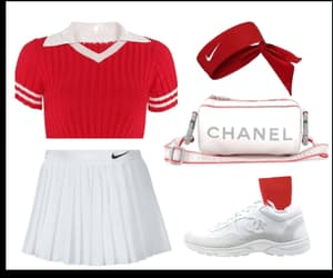 adidas, red, and skirt image