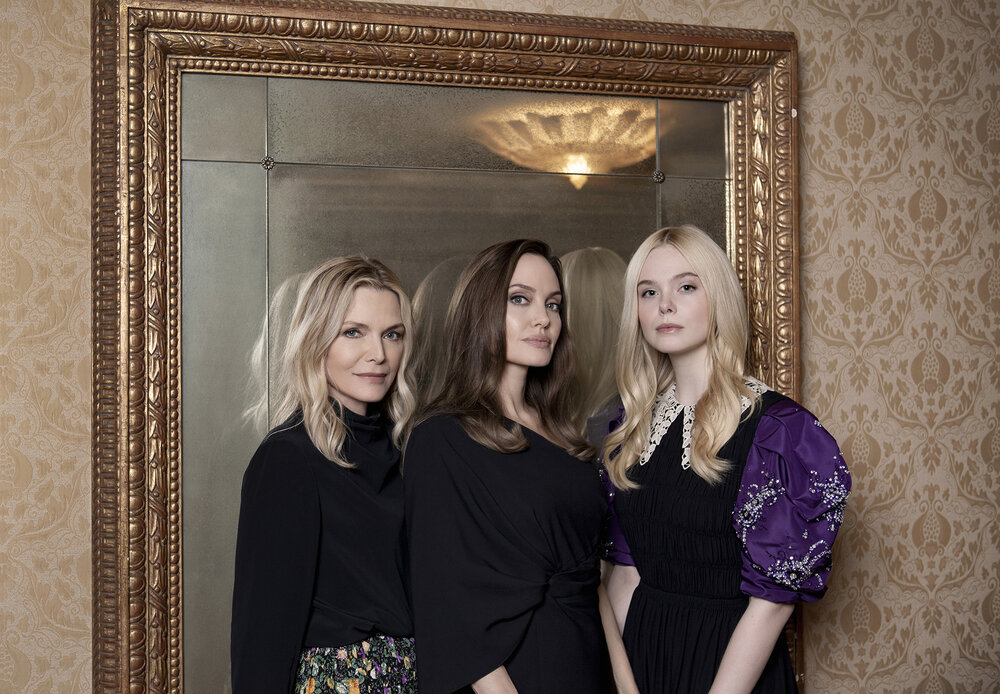 Angelina Jolie, 20th century women, and Elle Fanning image