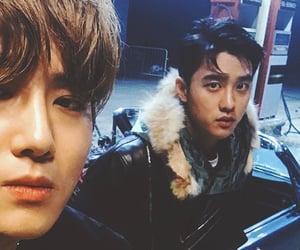 exo, suho, and kyungsoo image