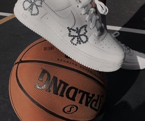 Basketball and butterfly image