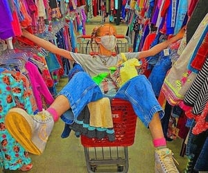 fashion, thrift, and indie kids image