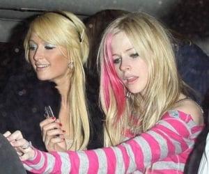 Avril Lavigne, paris hilton, and pink image