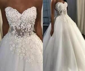 vestido de noiva, elegant wedding dresses, and wedding dresses 2021 image