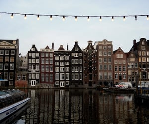 city, amsterdam, and travel image