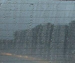 aesthetic, car, and rain image