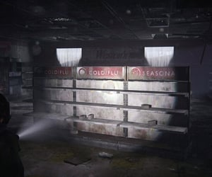 abandoned, dystopian, and flashlight image